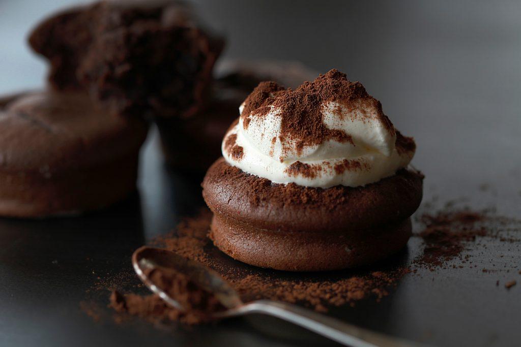 čokoládový koláčik