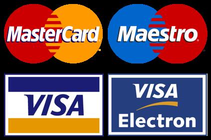 Akceptujeme platobné karty